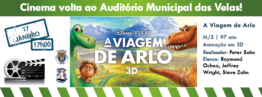 Banner A Viagem de Arlo