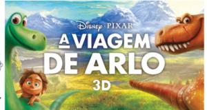 """17 de Janeiro – Cinema Infantil: """"A Viagem de Arlo"""" em 3D, no Auditório Municipal das Velas"""