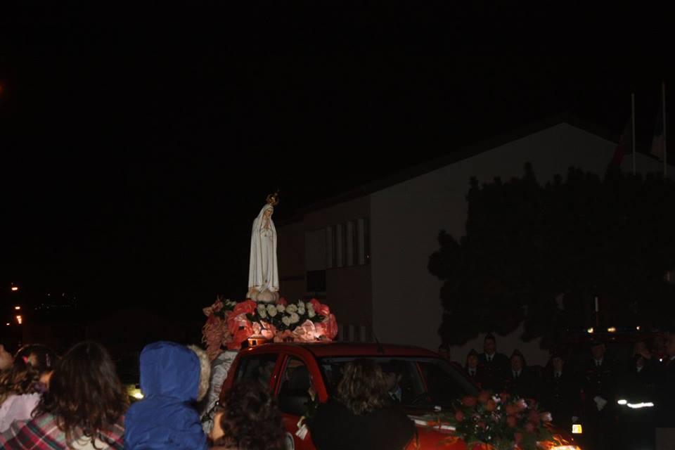 No adeus à Imagem Peregrina no concelho das Velas muita fé e homenagens por parte da população em geral e instituições (c/áudio)