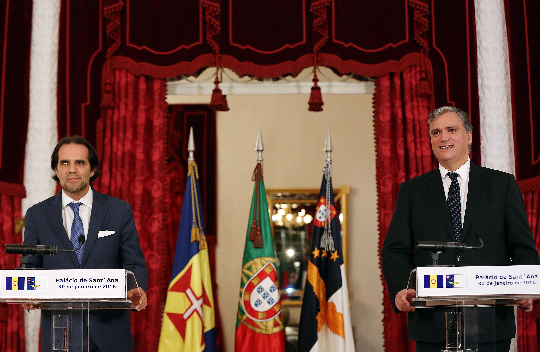 """Vasco Cordeiro afirma que visita de Miguel Albuquerque constitui """"impulso renovado"""" nas relações entre as Regiões Autónomas"""