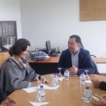 Assunção Cristas esteve em São Jorge – visitou a Escola profissional e reuniu com militantes e simpatizantes do CDS-PP (c/áudio)