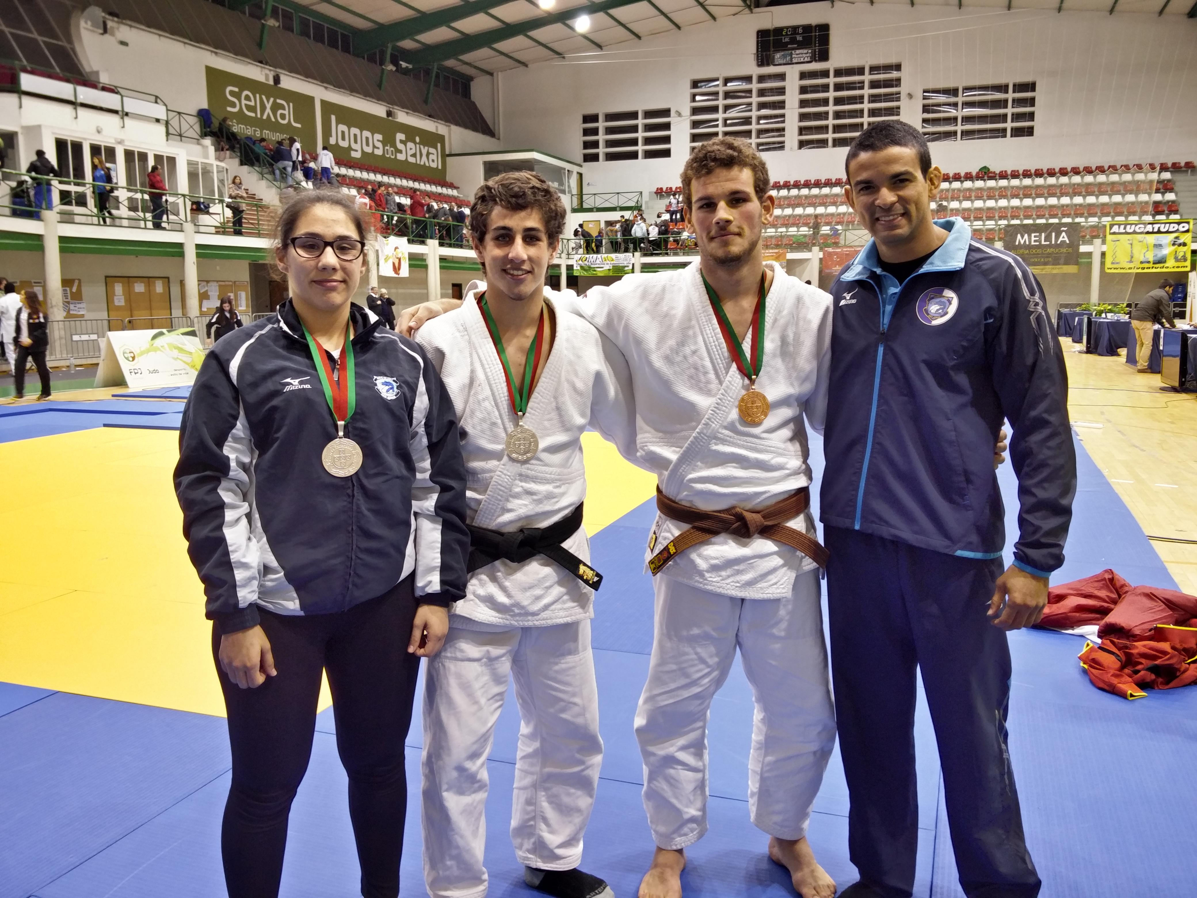 Atletas do Judo Clube São Jorge chegam novamente ao pódio em competição nacional
