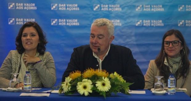 """Assunção Cristas nos Açores: CDS-PP trabalhará para """"ter o melhor resultado possível"""" nas eleições Regionais"""