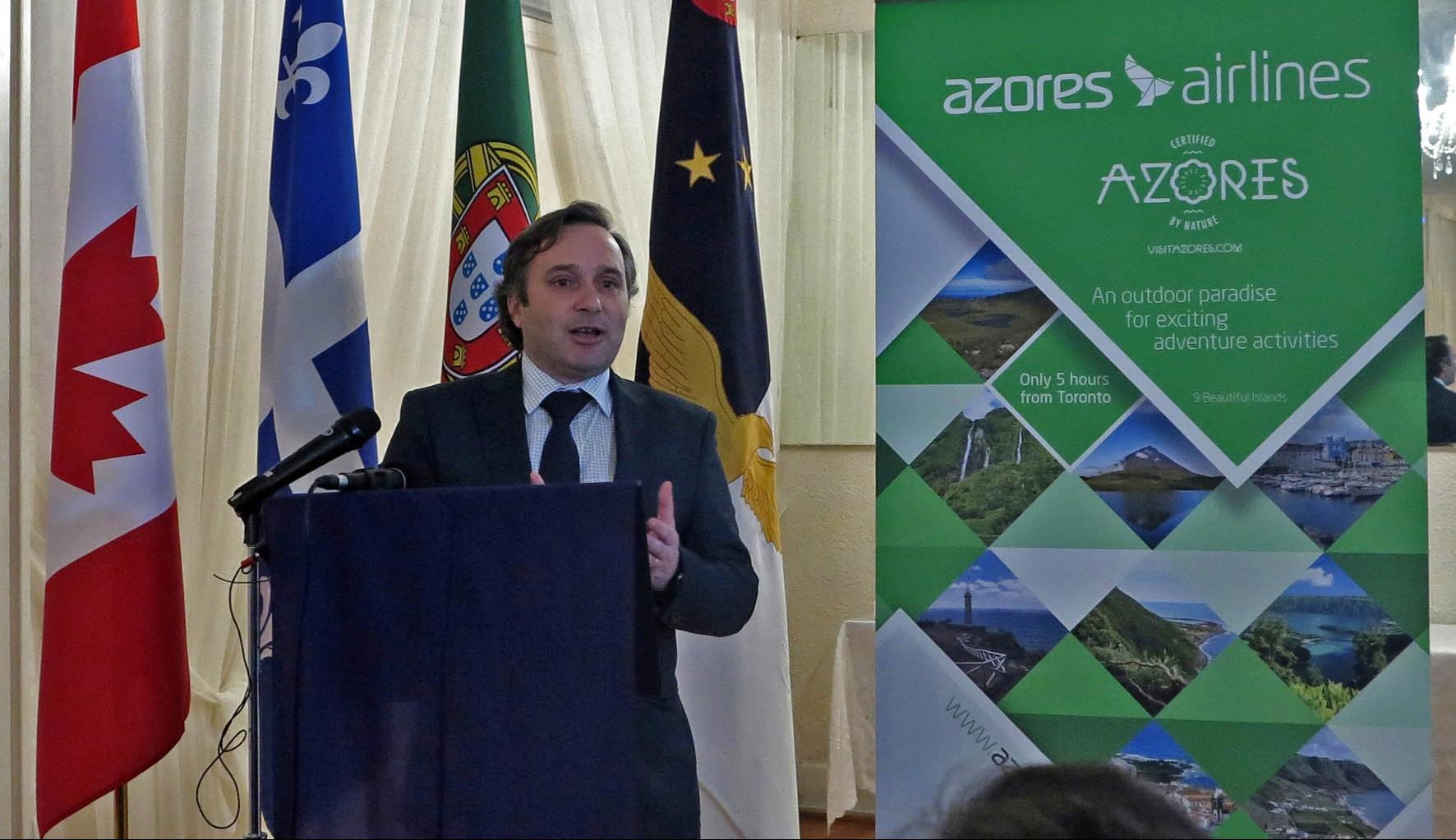 """Marca Azores Airlines """"surge da nossa ambição de fazer mais e melhor"""", afirma Vítor Fraga"""