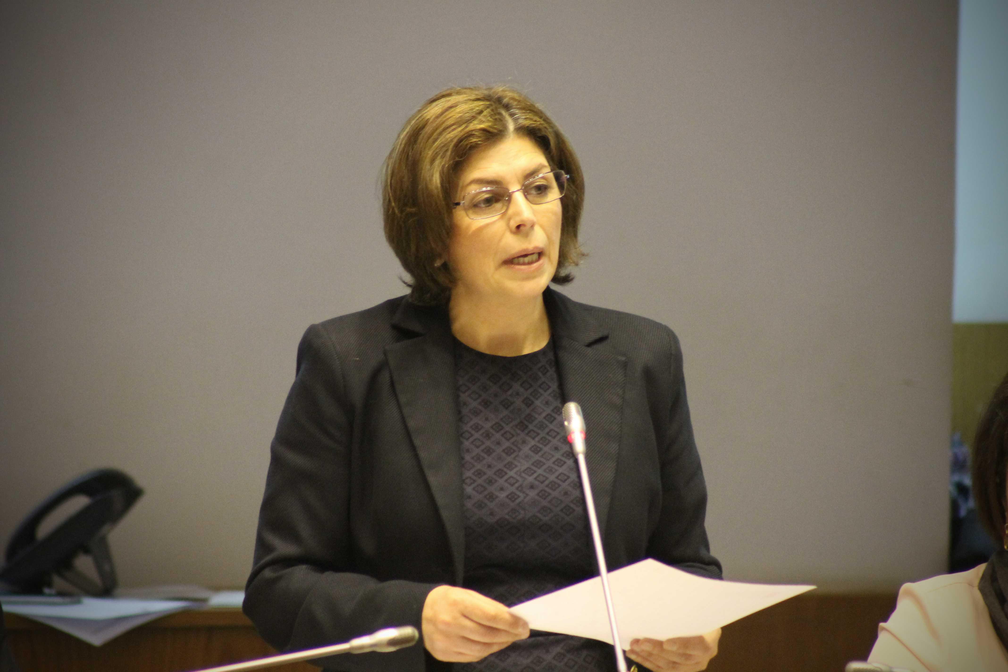 """""""Criação de emprego de qualidade requer empenho de todos"""", defendeu Graça Silva"""