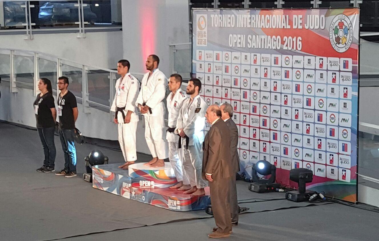 Tiago Rodrigues alcança o bronze no Open Pan-Americano do Chile