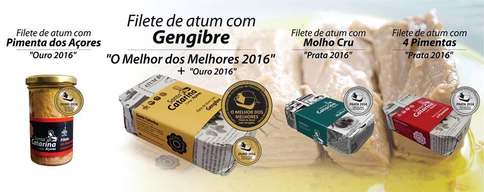"""Conserveira Santa Catarina ganha a 5.ª Medalha """"O Melhor dos Melhores"""""""