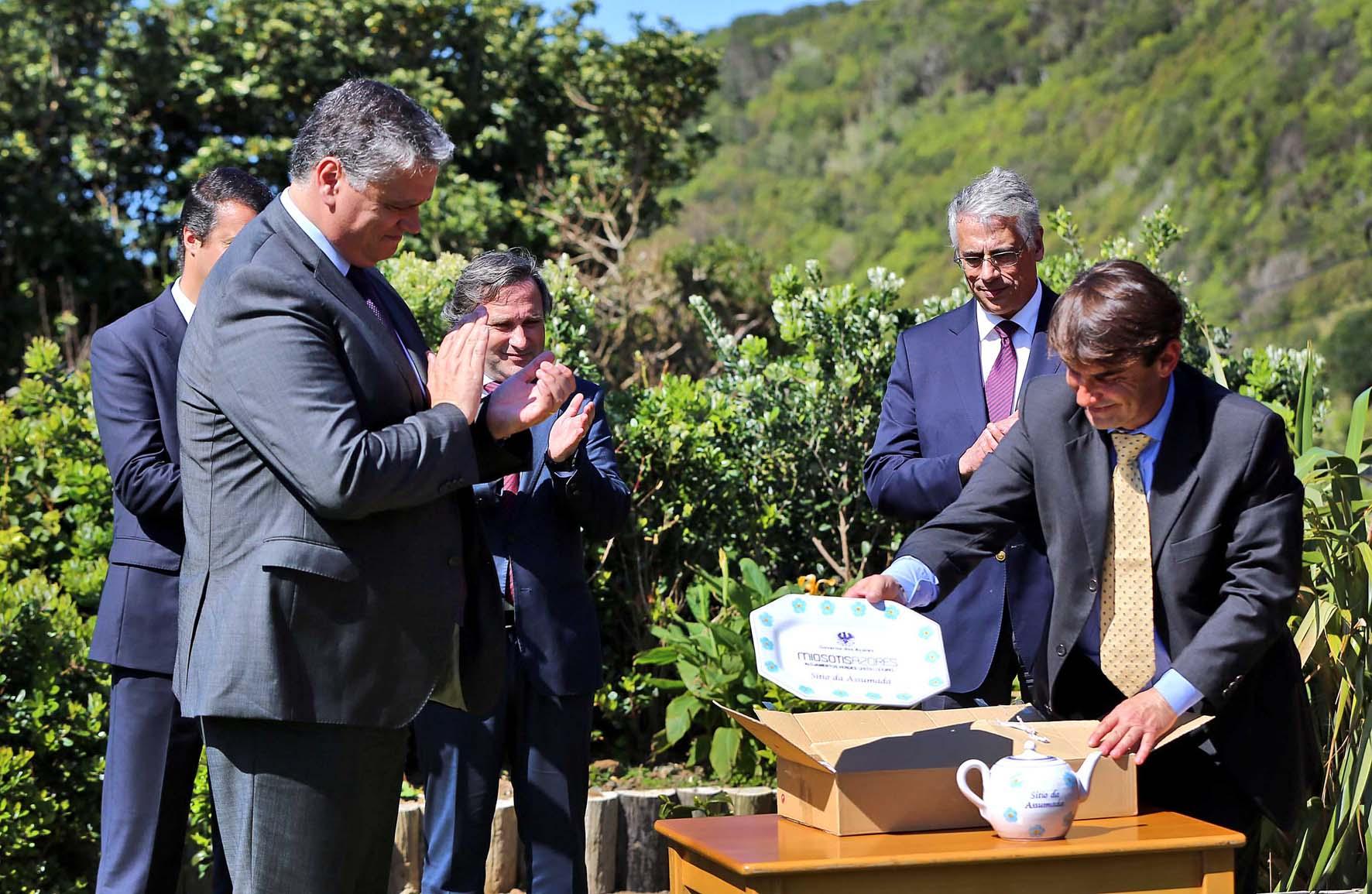 Vasco Cordeiro destaca valor acrescentado para os Açores da conciliação entre o turismo e o património ambiental