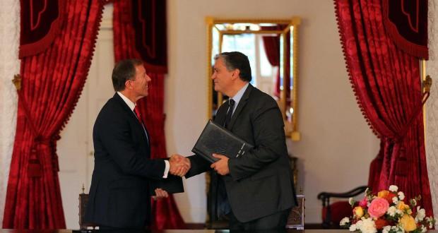 Memorando de Entendimento dá novo enquadramento político e institucional à relação afetiva entre os Açores e a Bermuda, afirma Vasco Cordeiro