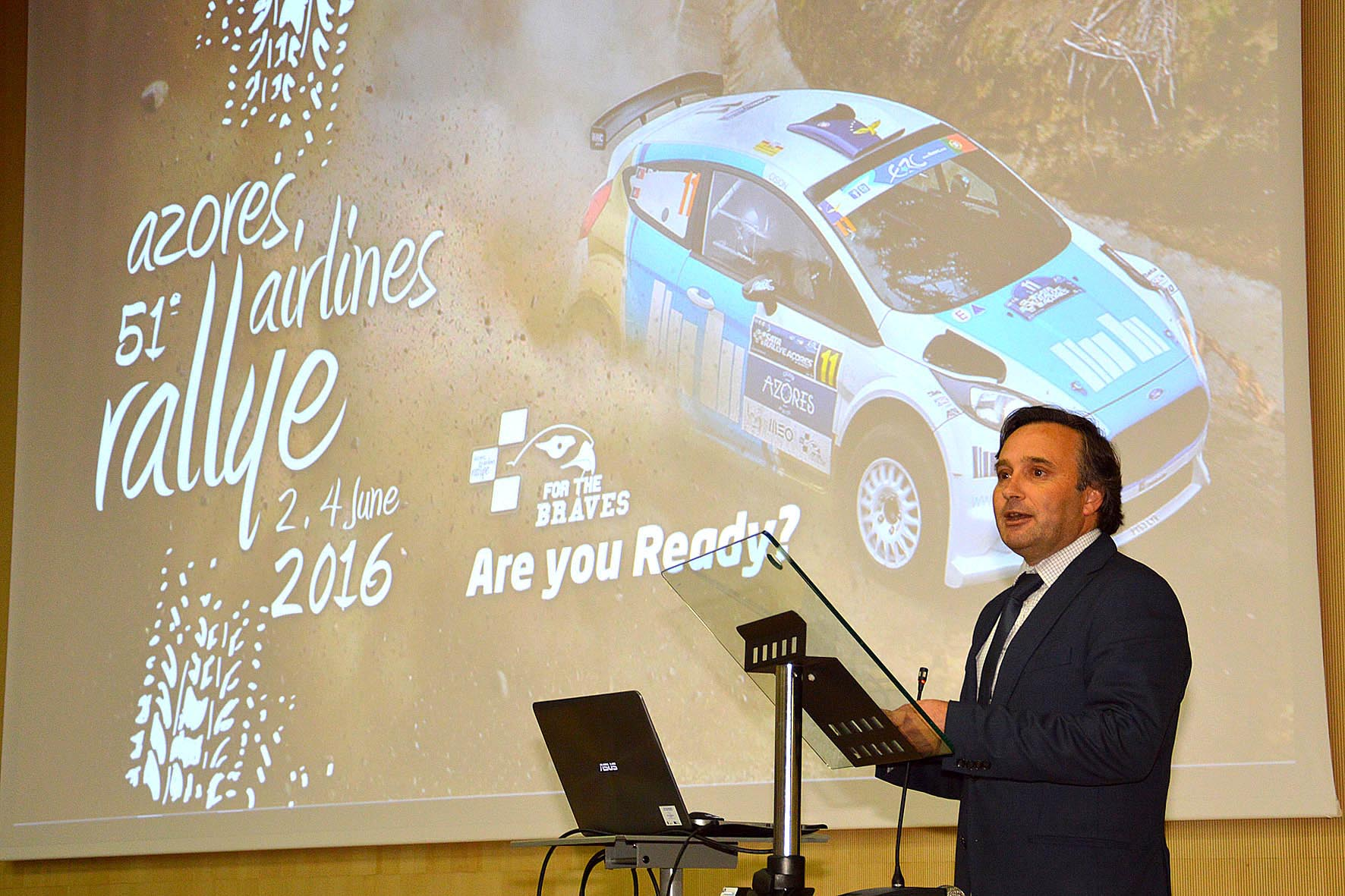 "Azores Airlines Rallye demonstra capacidade dos Açores para ""organizar eventos à escala global"", afirma Vítor Fraga"