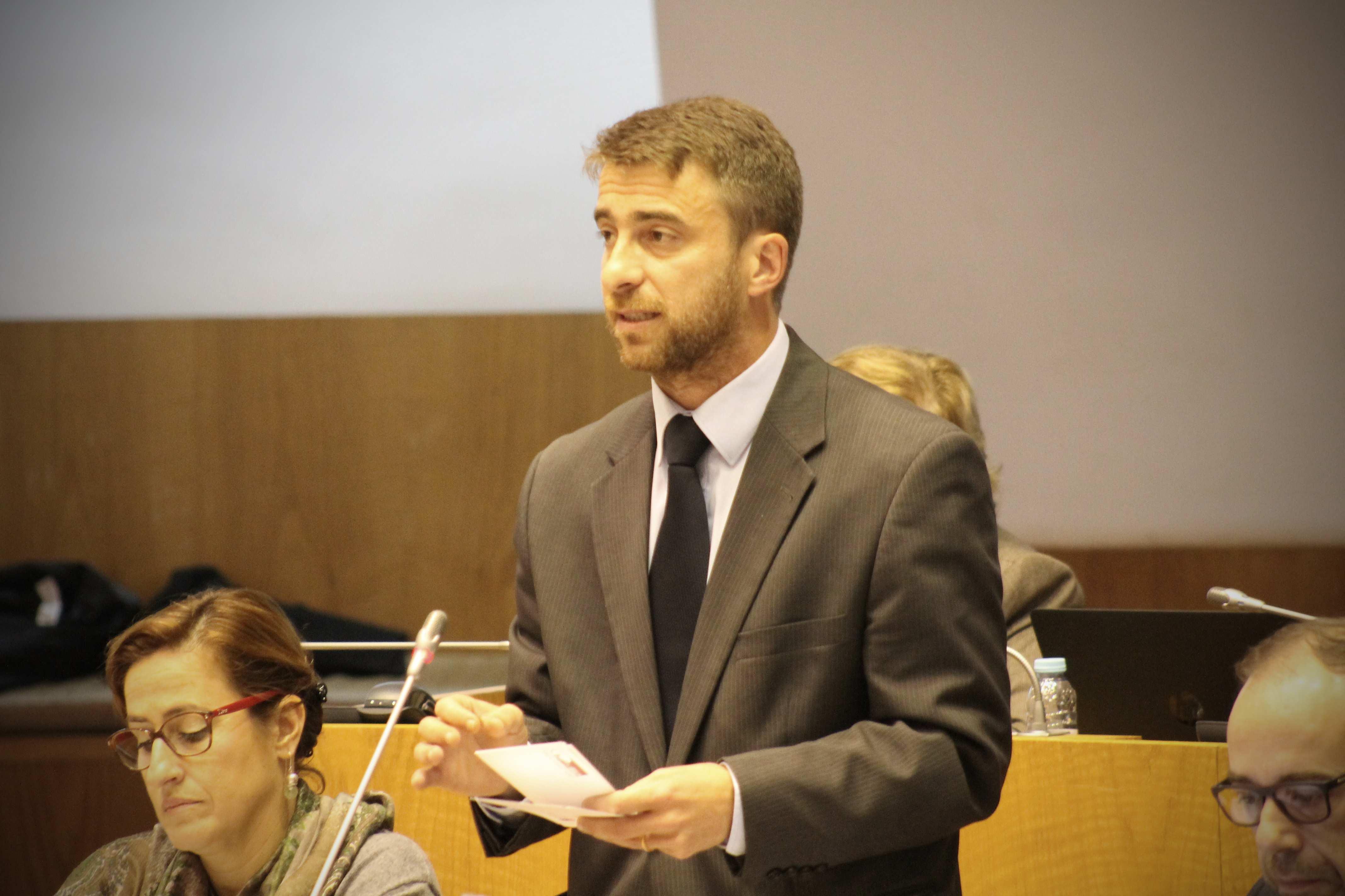 """""""A qualificação através do ensino profissional tem sido uma aposta clara do Governo dos Açores"""" lembrou Lúcio Rodrigues"""