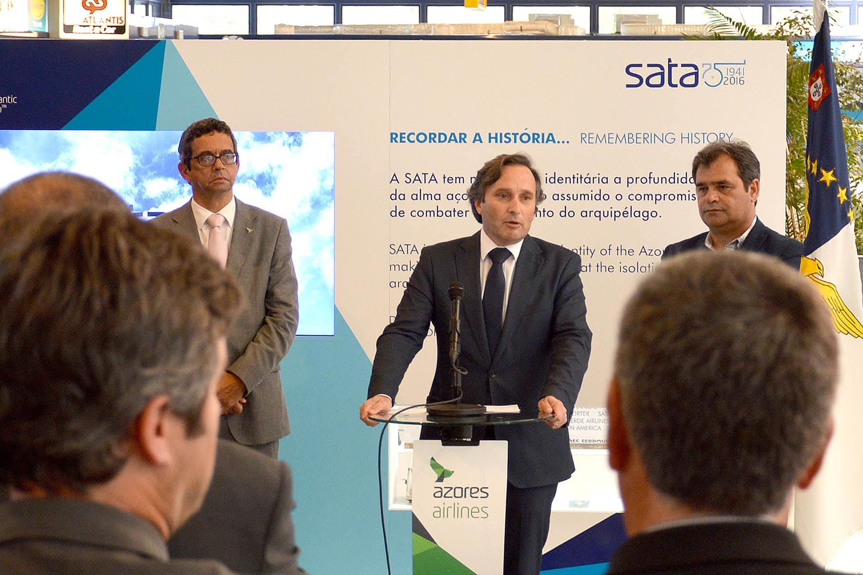 Vítor Fraga destaca resposta pronta e positiva da SATA perante novo modelo de acessibilidades