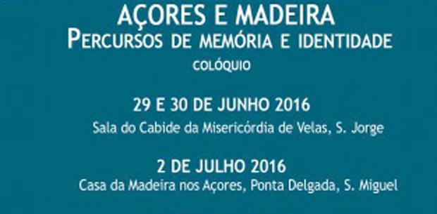 """Colóquio """"Açores e Madeira: Percursos de memória e identidade"""" está a decorrer na Santa Casa da Misericórdia das Velas (c/áudio)"""