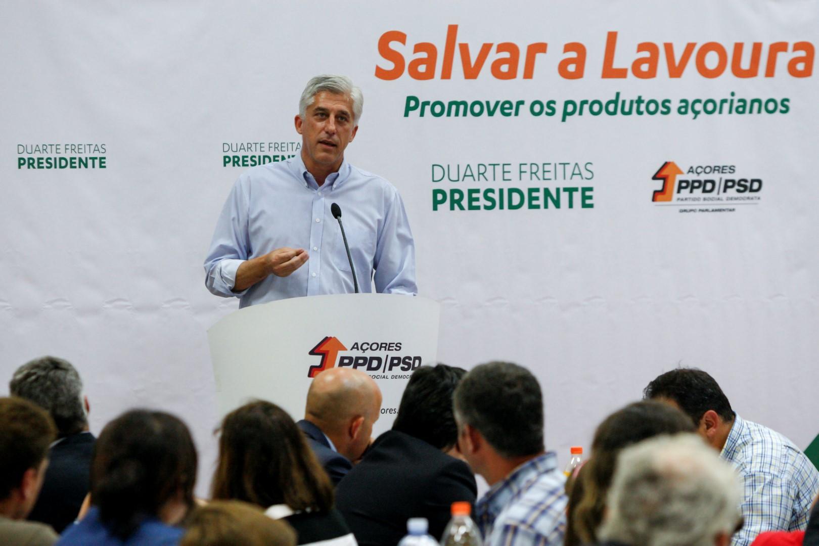 """Duarte Freitas pede """"oportunidade"""" aos lavradores"""