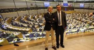 Luís Silveira visita Parlamento Europeu, em Bruxelas (c/áudio)