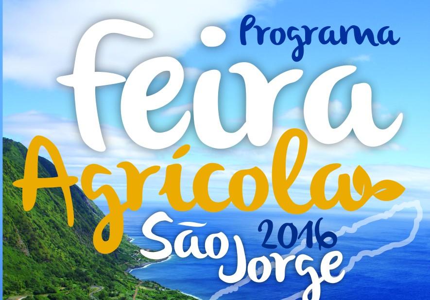 Programa Feira Agrícola São Jorge 2016 – Relvinha 17 a 19 de junho