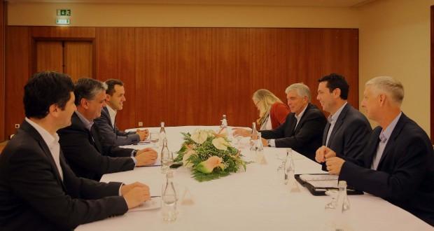 Vasco Cordeiro reuniu com Congressistas dos EUA na ilha Terceira