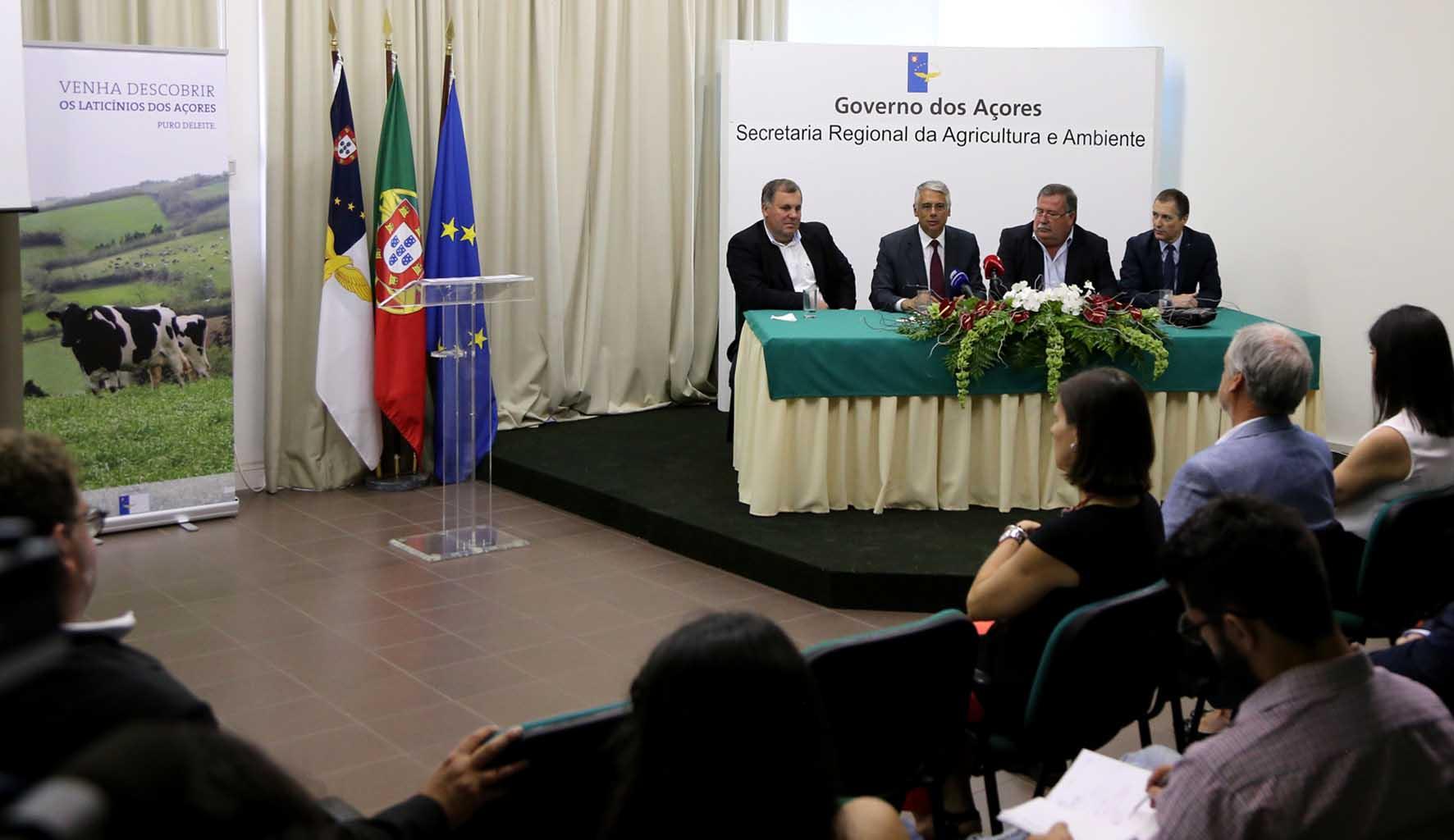 Governo Regional lança hoje campanha nacional de promoção do leite e laticínios dos Açores