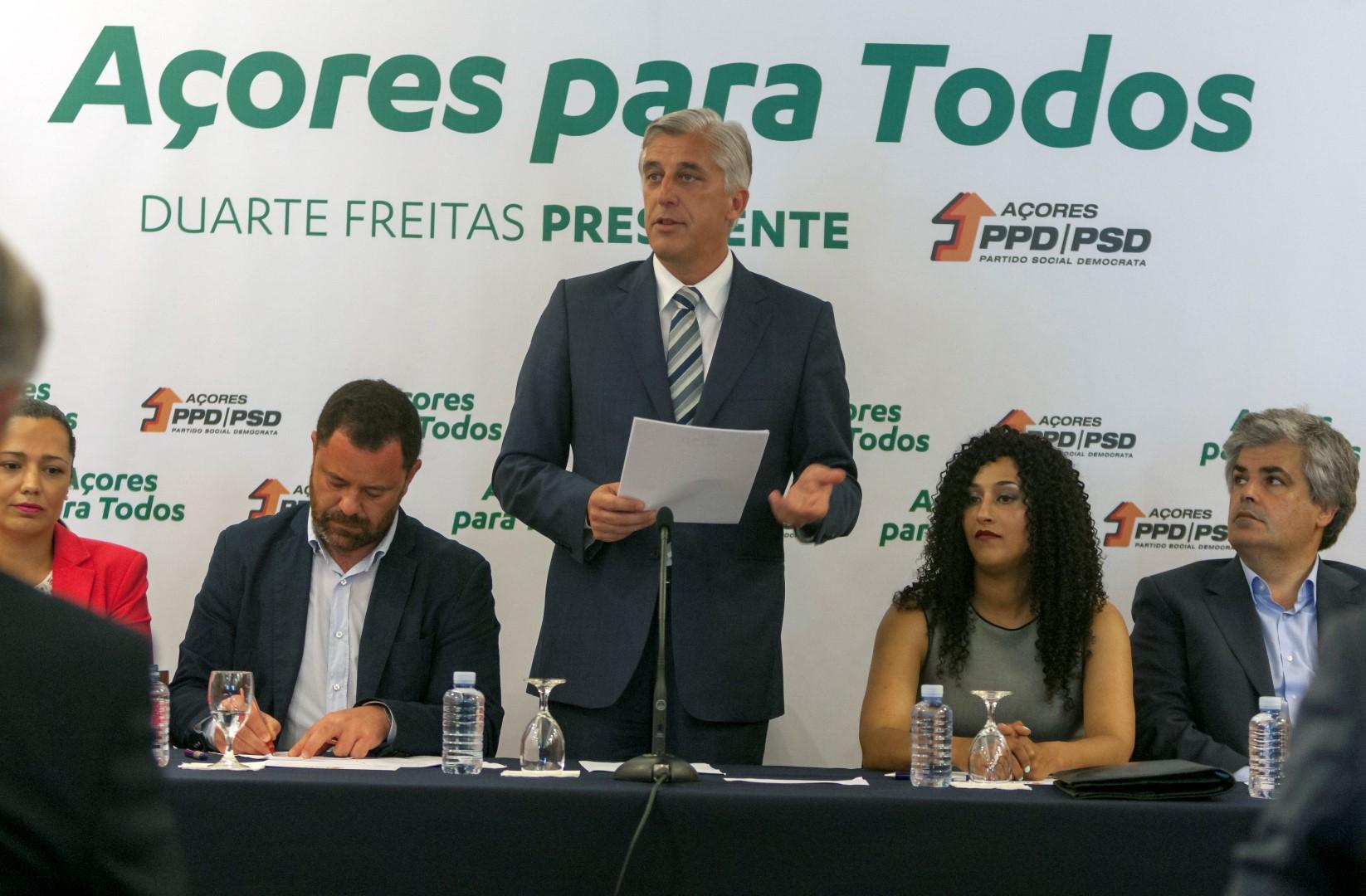 Duarte Freitas quer captar mais investimento privado para os Açores