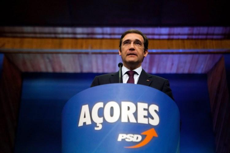 Passos Coelho visita as ilhas de São Jorge, Faial, São Miguel e Terceira com políticas sociais e estratégia económica na agenda