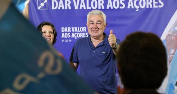 """Artur Lima encabeça lista do CDS-PP pela ilha Terceira para """"valorizar a ilha"""""""
