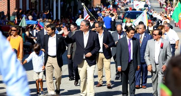 Vasco Cordeiro participou no Cortejo do Bodo de Leite das Grandes Festas da Nova Inglaterra