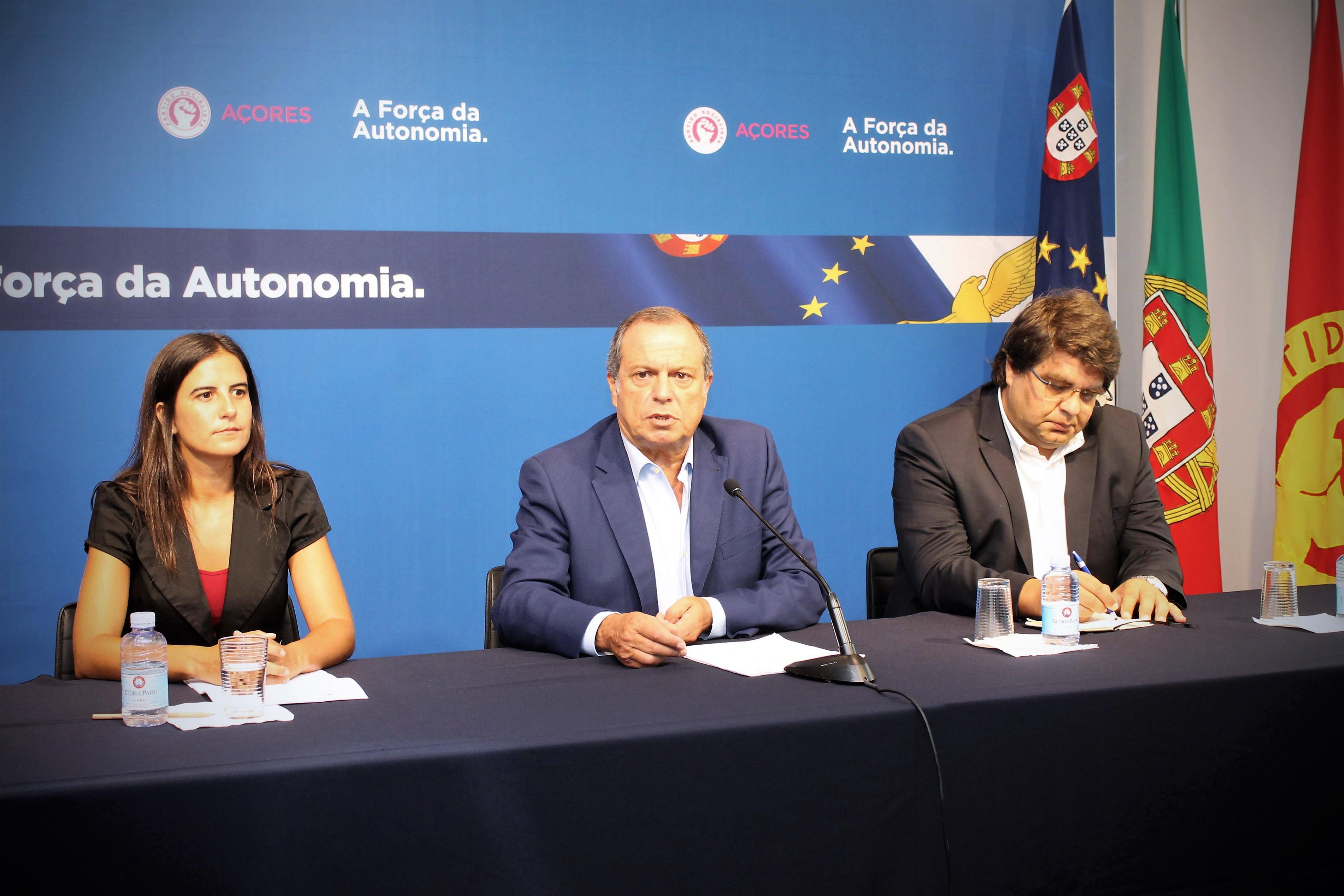 """Deputados do PS/Açores garantem """"dar continuidade e melhor execução ao que assegurámos até agora"""""""