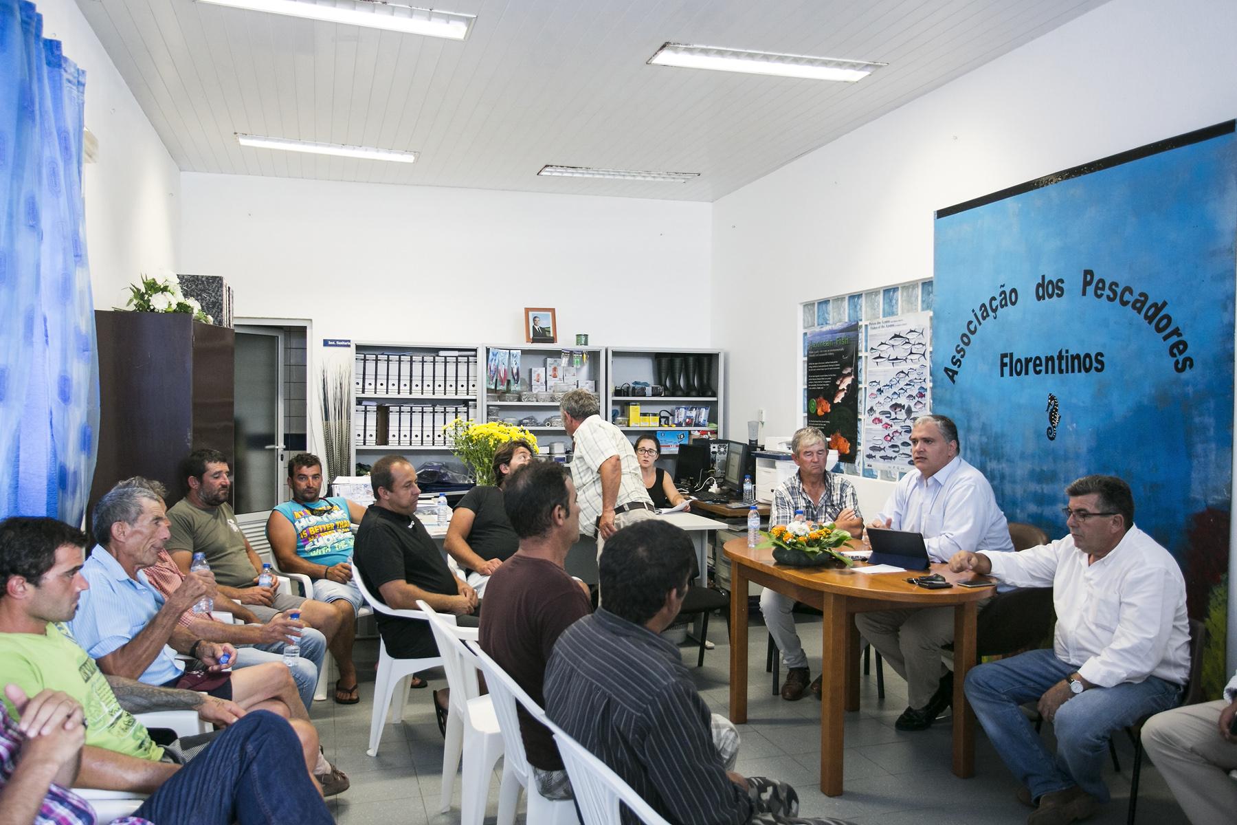 """""""Melhoria de rendimentos, modernização e sustentabilidade são os desafios do setor das Pescas"""" realçou Vasco Cordeiro"""