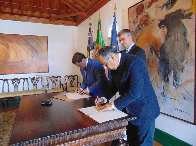 Luís Cabral destaca benefícios para os Açorianos que resultam da colaboração entre a Proteção Civil dos Açores e os Bombeiros Sapadores de Lisboa