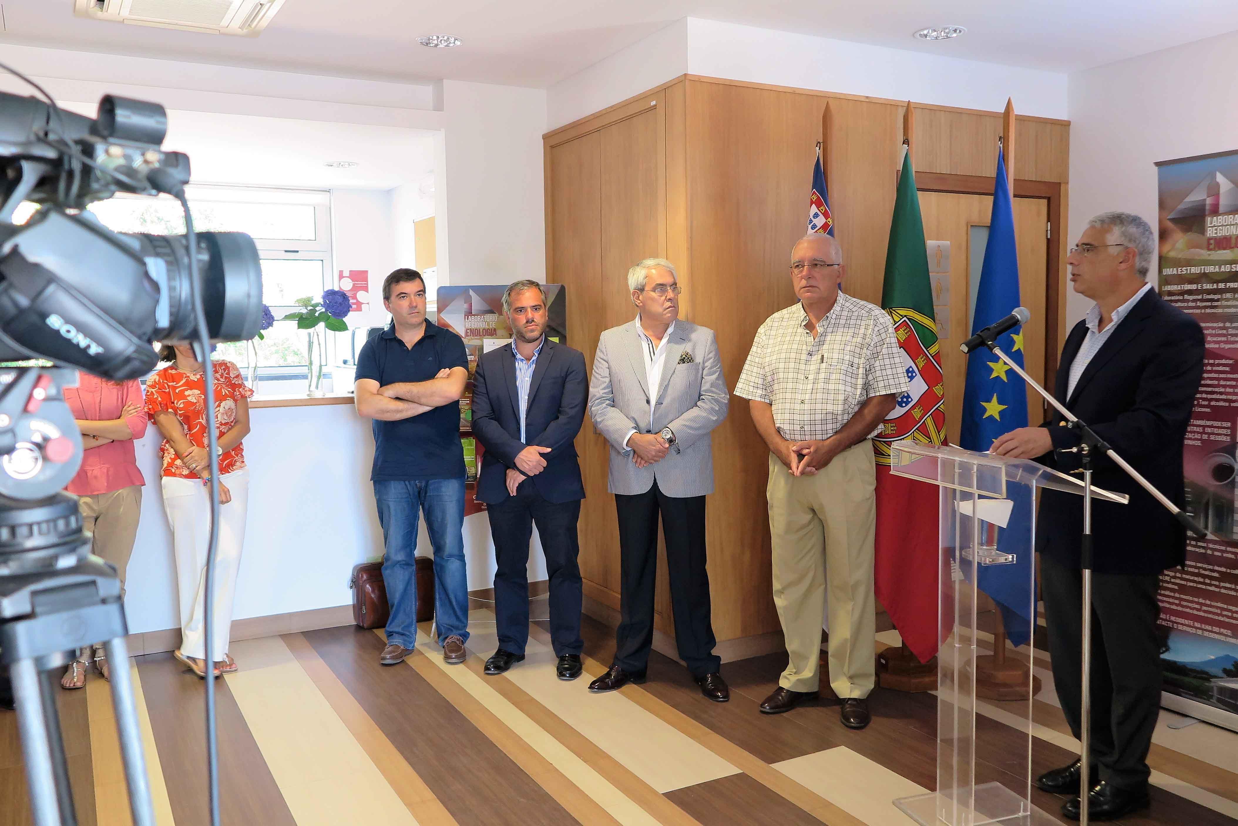 Amostras recebidas no Laboratório Regional de Enologia dos Açores aumentam cerca de 250%