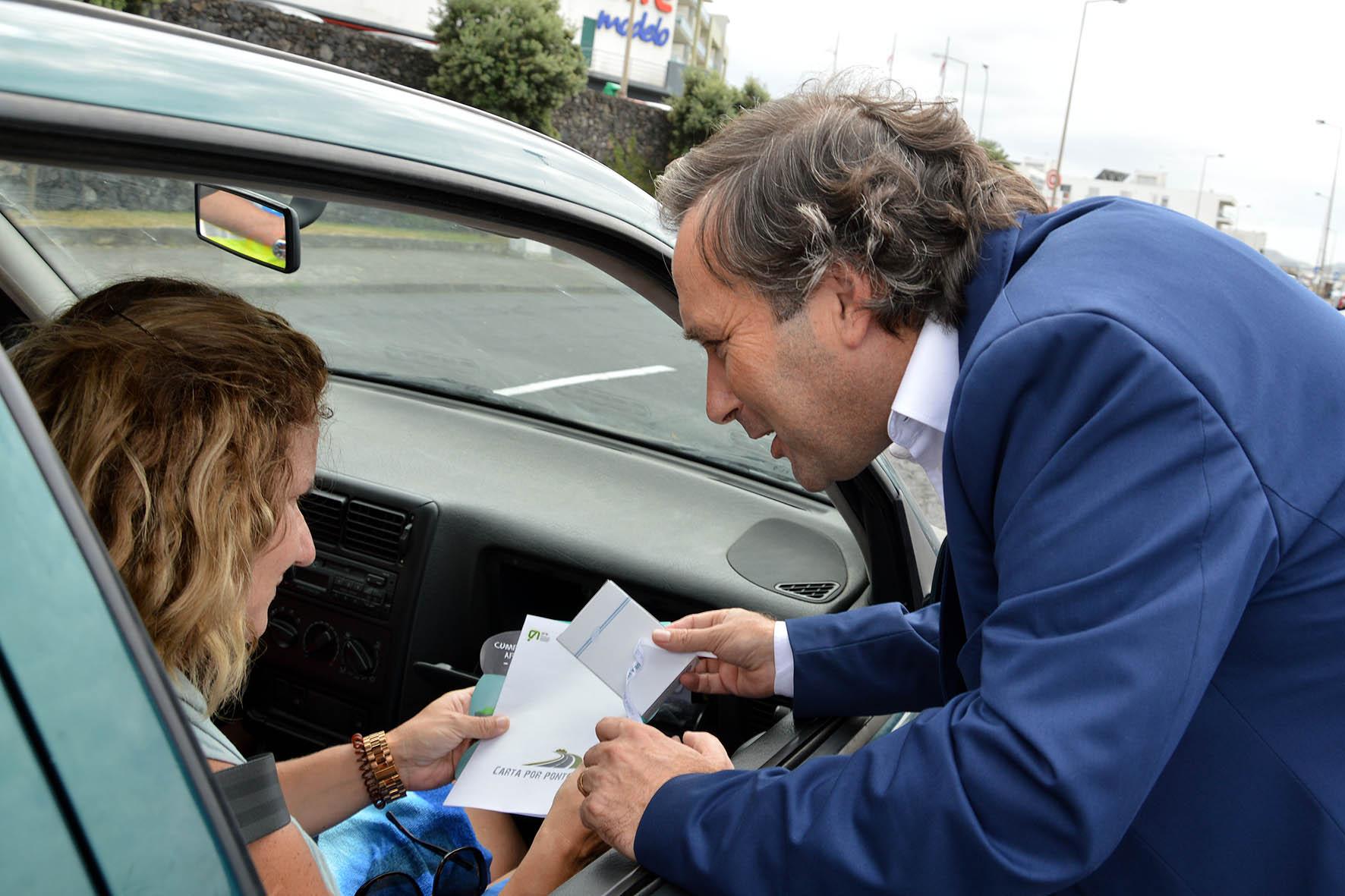 Aumento de tráfego nas estradas salienta importância da prevenção rodoviária, afirma Vítor Fraga