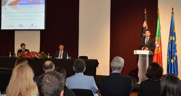 """Estudo confirma """"potencial positivo"""" da Parceria Transatlântica para os Açores"""