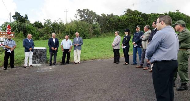 Obra no Caminho Rural da Fonte beneficia sete dezenas de explorações da zona norte da ilha do Faial