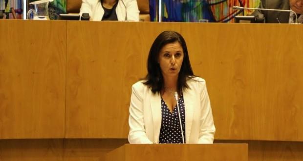 Ana Espínola despede-se do Parlamento regional com balanço da legislatura e duras críticas ao Governo socialista (c/áudio)