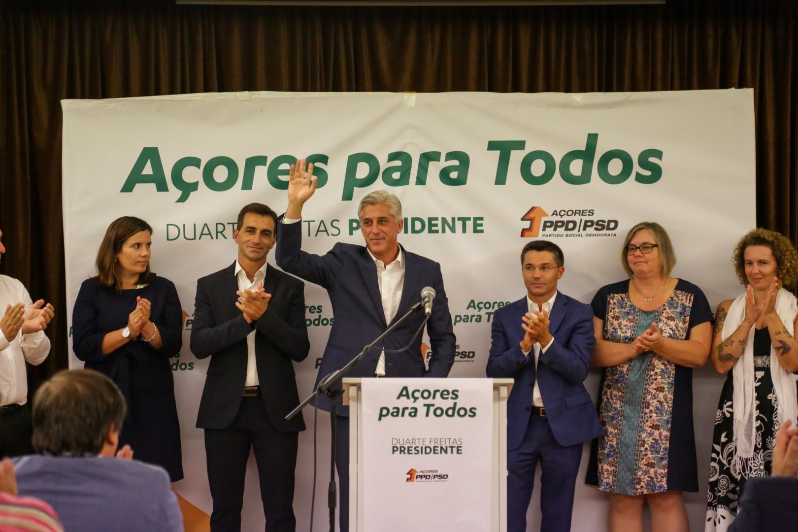 """Duarte Freitas disposto a """"assumir liderança"""" de melhoria do aeroporto da Horta"""