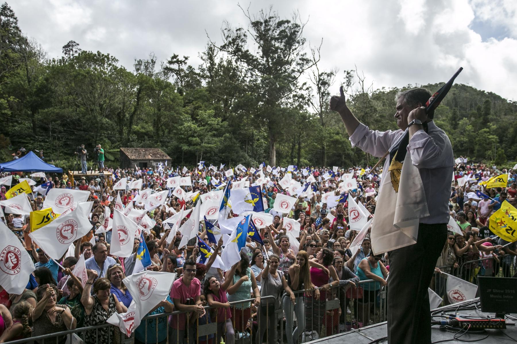 Vasco Cordeiro apela ao voto forte no PS para dar mais força aos Açores
