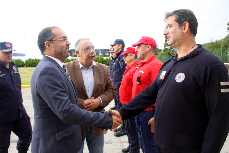 Rui Luís manifesta satisfação por Sapadores Bombeiros de Lisboa escolherem os Açores para a formação dos seus recrutas