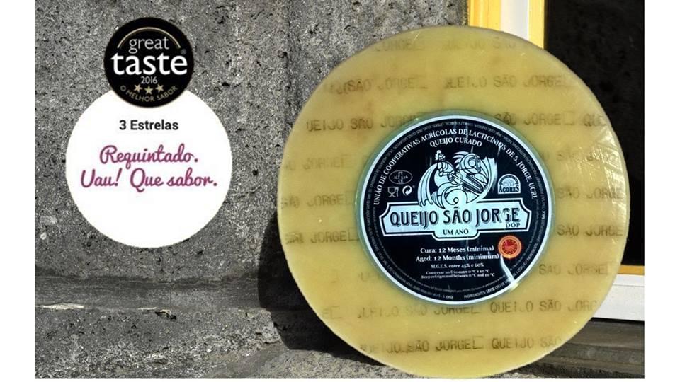 Queijos São Jorge DOP premiados no concurso Great Taste Awards Portugal