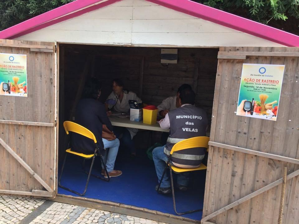 Celebra-se hoje o Dia Mundial da Diabetes – Unidade de Saúde de Ilha de S.Jorge e Município Velense promovem ação de rastreio (c/áudio)