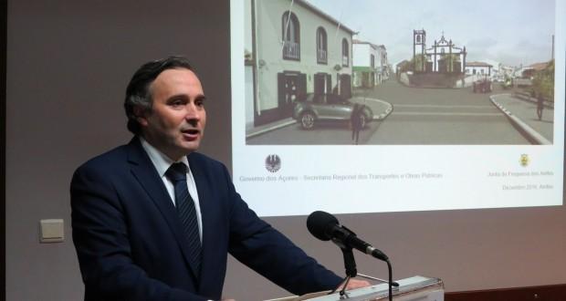 Governo dos Açores trabalha em conjunto com o poder local para melhorar condições de vida em todas as freguesias, afirma Vítor Fraga