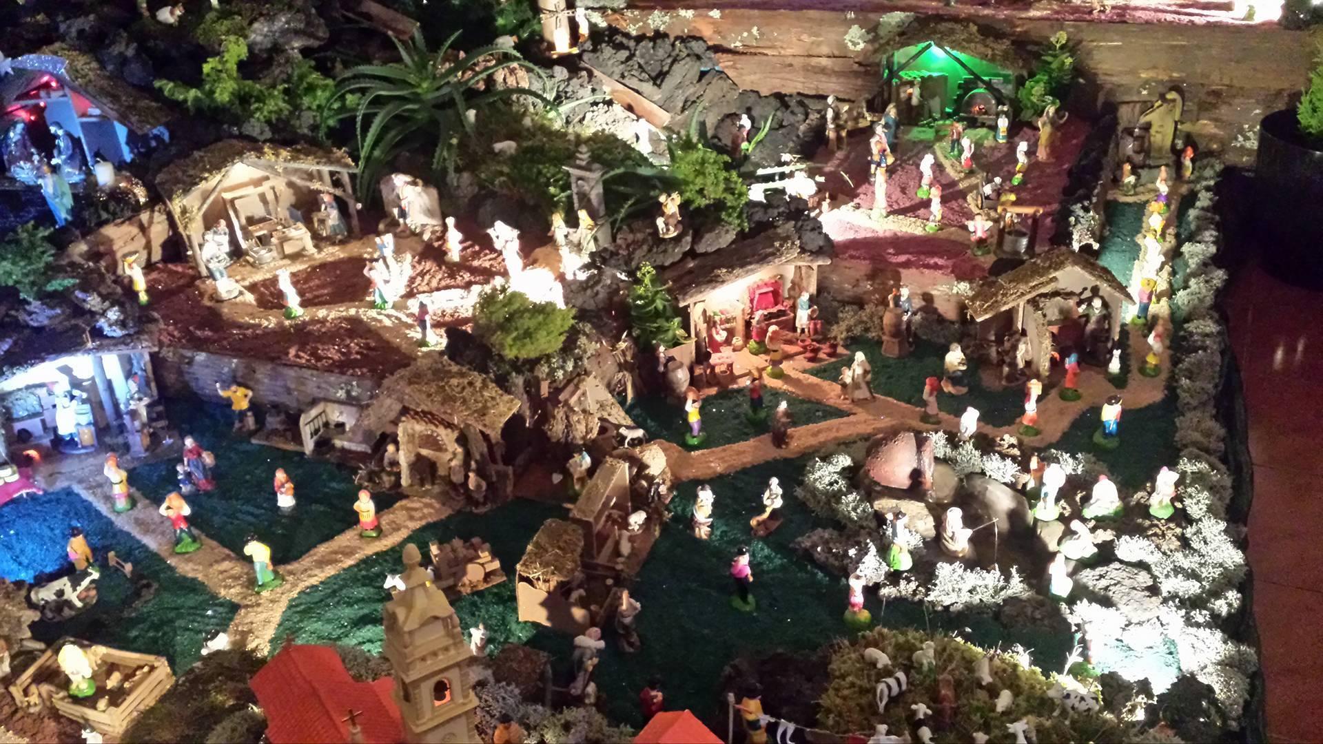 """""""Presépio do Armindo e Amigos"""" mantém viva uma tradição de família nesta época de Natal (c/áudio)"""