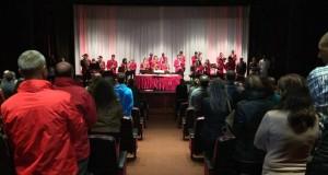 """Filarmónica Liberdade e Iuventute Virtutis apresentaram num Concerto Encenado """"A Importância de Ser Ernesto"""" (c/áudio)"""