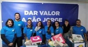 JP São Jorge ajuda famílias carenciadas a passar um Natal mais feliz com a entrega de Cabazes de Natal