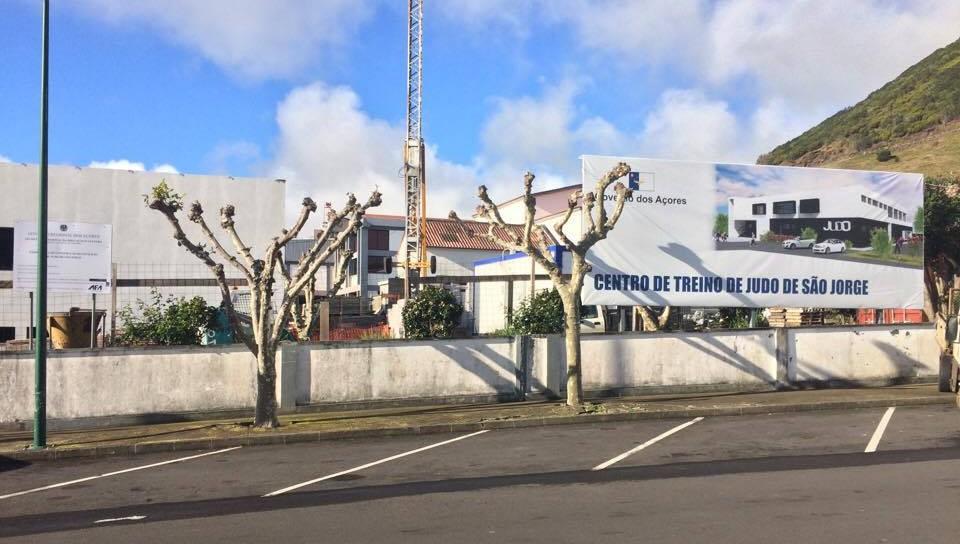 Centro de Treino de Judo, em S.Jorge, é projeto pioneiro no país – obra deve estar concluída no final de fevereiro (c/áudio)