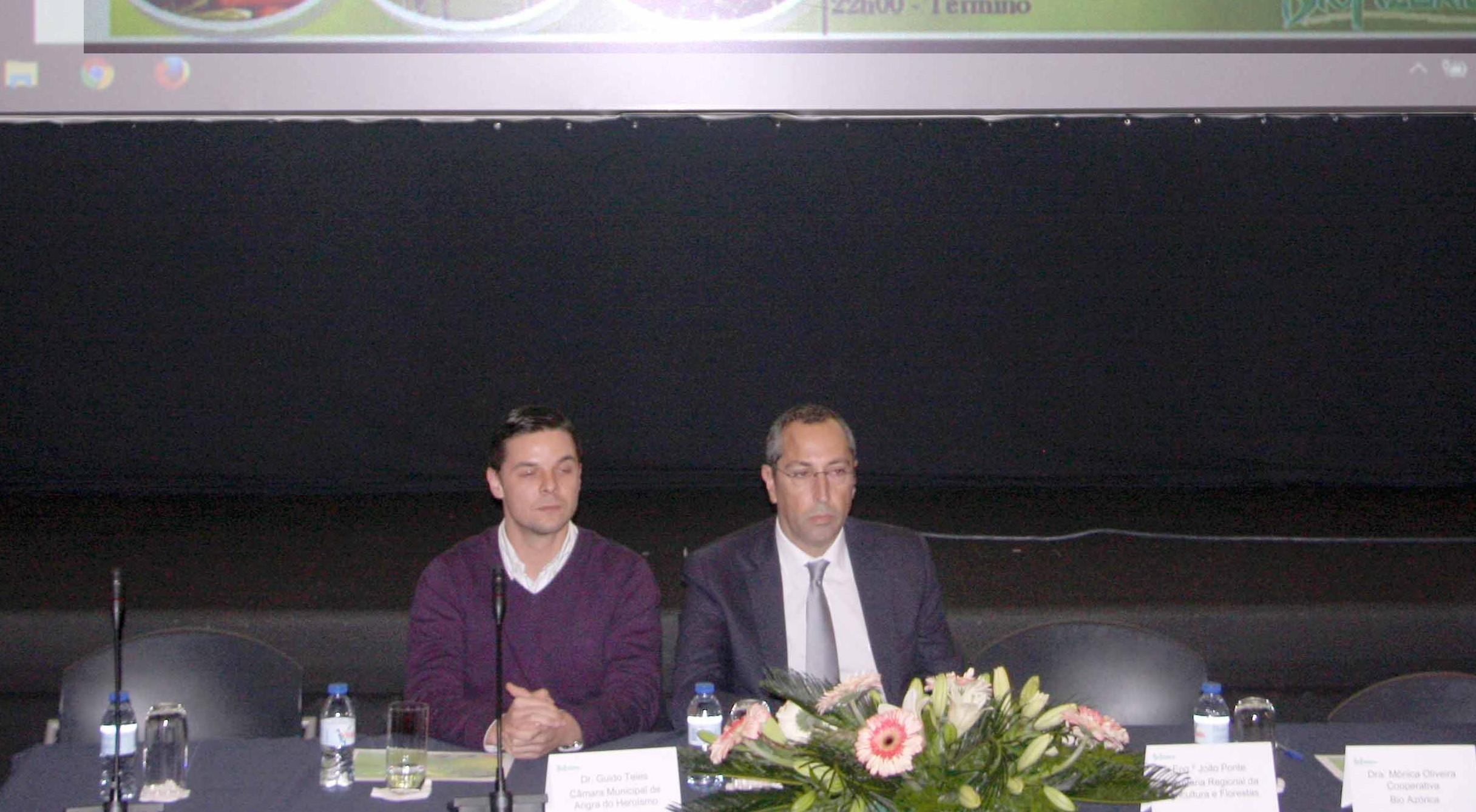 Governo dos Acores vai desenvolver plano para a agricultura e produção biológica, anuncia João Ponte