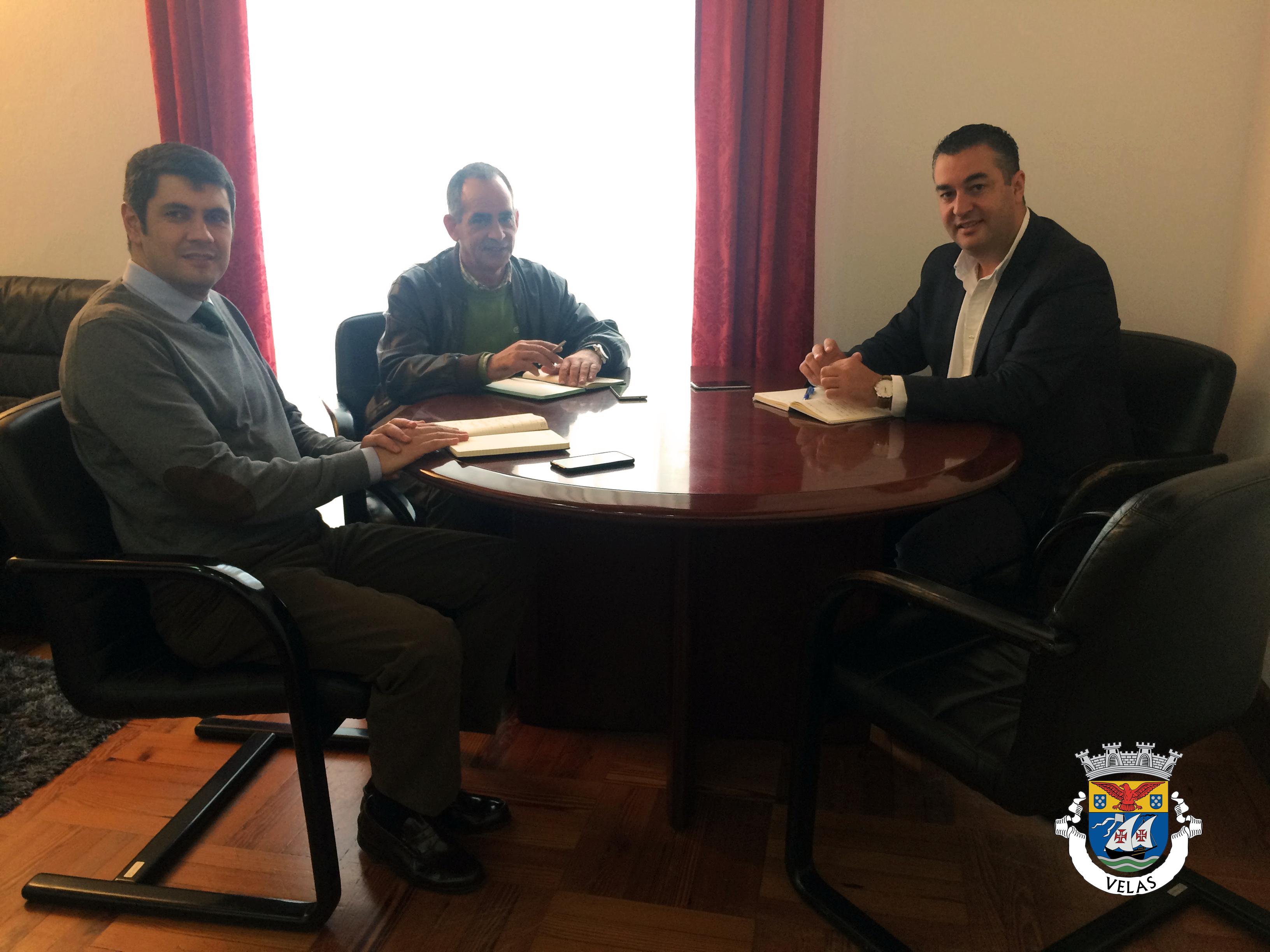 Presidente do Conselho de Administração da Atlânticoline reúne com Luís Silveira