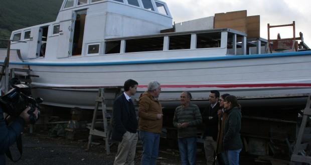 """Não pôr a Espalamaca novamente a navegar """"é assassinar a história"""", considera Artur Lima"""