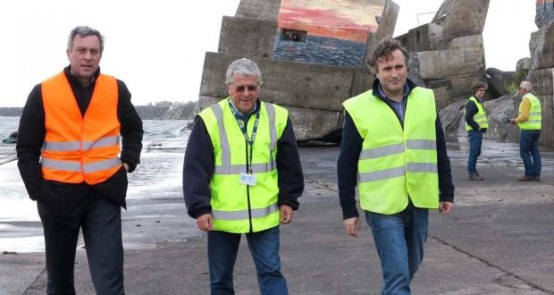 Portos dos Açores, S.A. lança empreitada de reparação do molhe-cais do porto da Madalena