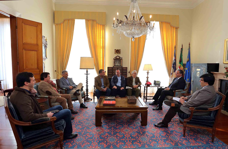 Vasco Cordeiro recebeu Comissão de Trabalhadores da EDA