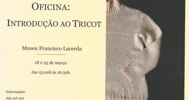 Museu Francisco Lacerda promove oficina de introdução ao tricô